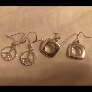 Sterling silver earring bundle